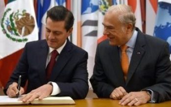 Reconoce la OCDE el legado transformador de Peña Nieto