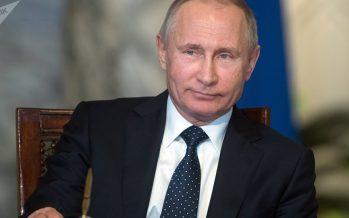 Putin: Rusia prevé 'iluminar' África