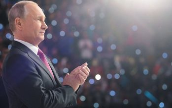 """Putin: """"Rusia seguirá victoriosa, no hay fuerza que pueda impedirlo"""""""