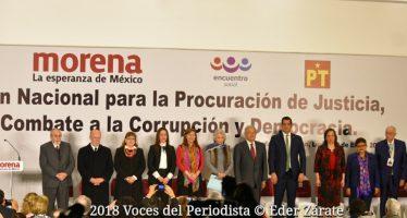 AMLO presentó Plan Nacional para la Procuración de Justicia