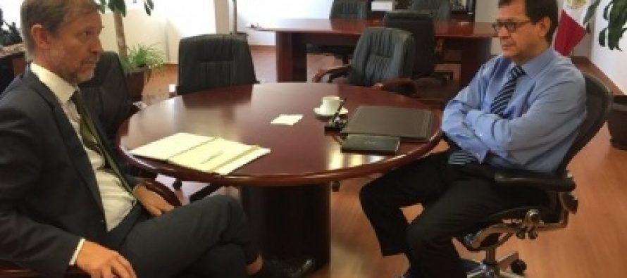 Alto Comisionado de ONU reconoce labor de Roberto Campa