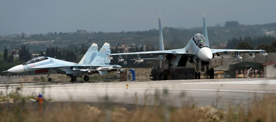 Rusia: foto de drones que usaron los yihadistas en Siria