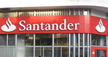 Filial de banco Santander reporta buena evolución en 2017