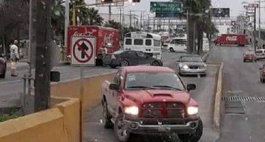 Al menos 10 narcobloqueos afectaron a Reynosa, esta mañana