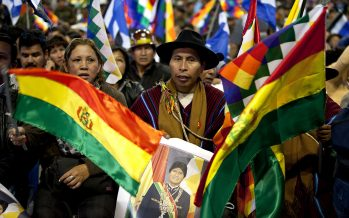"""Evo Morales advierte a Trump que """"se tragará"""" sus palabras"""