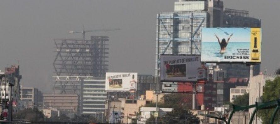 De regular a mala, la calidad del aire en el Valle de México