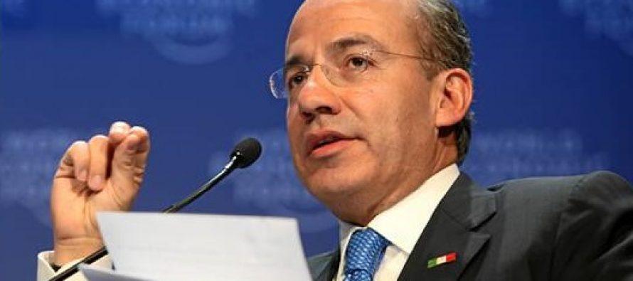 Felipe Calderón: Lo que es no leer lo que aprueban
