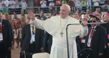 Finaliza Papa Francisco agenda en Amazonia y retorna a Lima