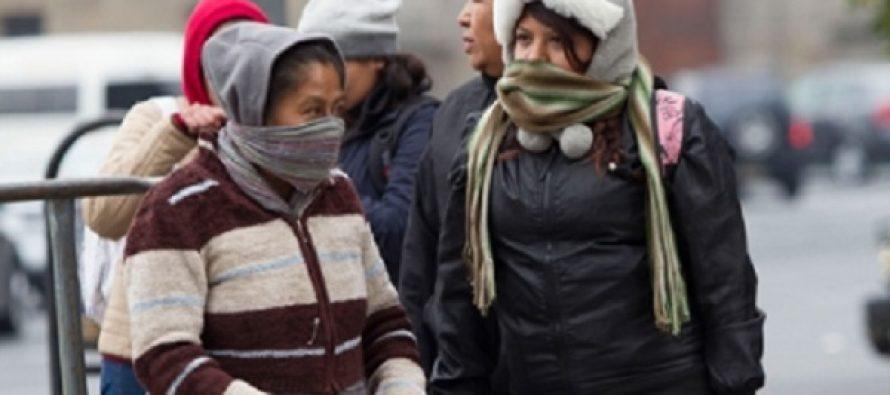 Predominará frío intenso en la mayor parte del país