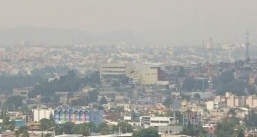 Hay mala calidad del aire en el norte del Valle de México