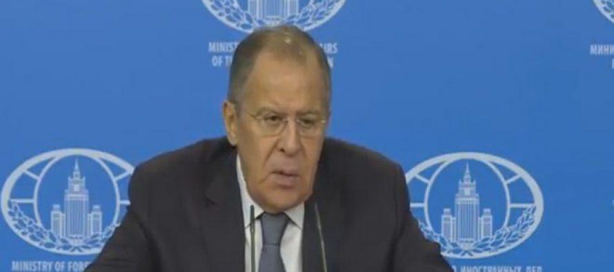 Lavrov: Moscú continuará la lucha antiterrorista en Siria