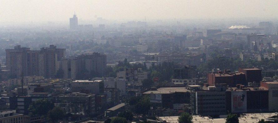 Partículas provocan mala calidad el aire en el Valle de México