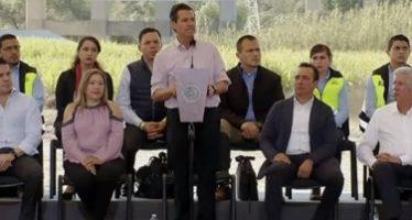Peña Nieto destaca inversión en comunicaciones y transportes
