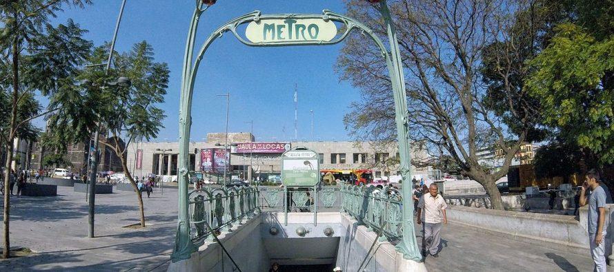 Accidente interrumpe servicio en estación Bellas Artes del Metro