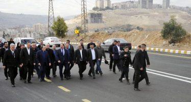 Primer Ministro inspecciona entrada norteña de Damasco