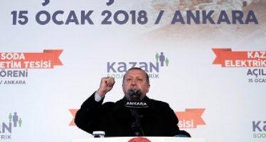 Erdogan denuncia que EEUU quiere derrocarlo