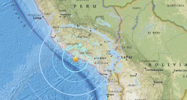 Sacude fuerte sismo el sur de Perú