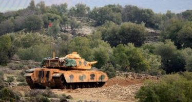 Tanques turcos entran en la ciudad siria de Afrín