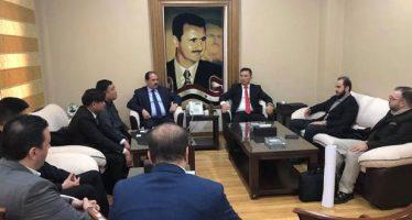 Siria y China examinan promover cooperación bilateral