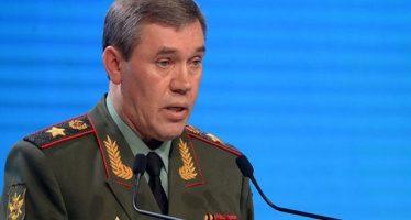 Guerasimov aborda con Dunford, la situación en Siria