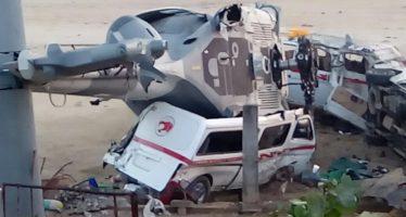 Siguen 13 personas hospitalizadas, por caída de helicóptero