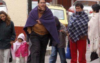 Frente frío 27 provoca lluvias y frío en Zacatecas