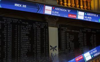 Bolsas europeas cierran con números rojos