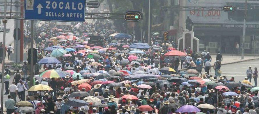 Centro y oriente de la capital se verán afectados por marchas