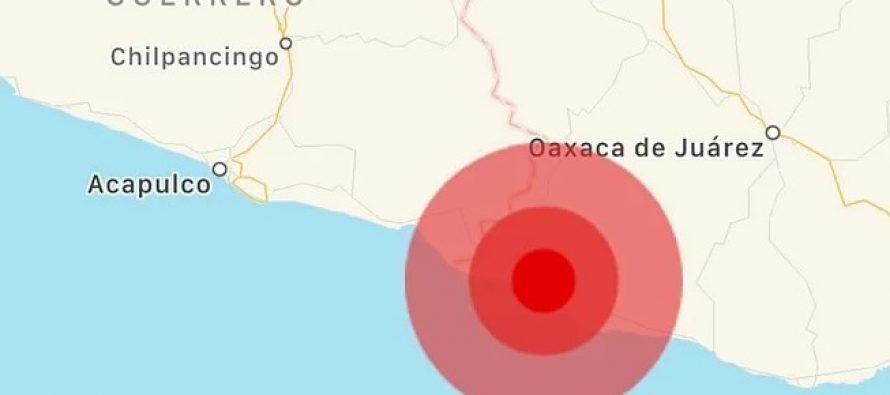Desplazamiento de la placa de Cocos originó sismo de magnitud 7.2