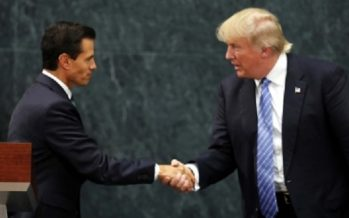 Preparan reunión entre Peña Nieto y Trump en las próximas semanas
