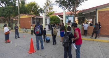 Descartan daños mayores en escuelas de Oaxaca