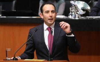 Senado concede licencia a Gil Zuarth para separarse de escaño