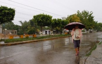 Llueve en cuatro delegaciones capitalinas esta tarde