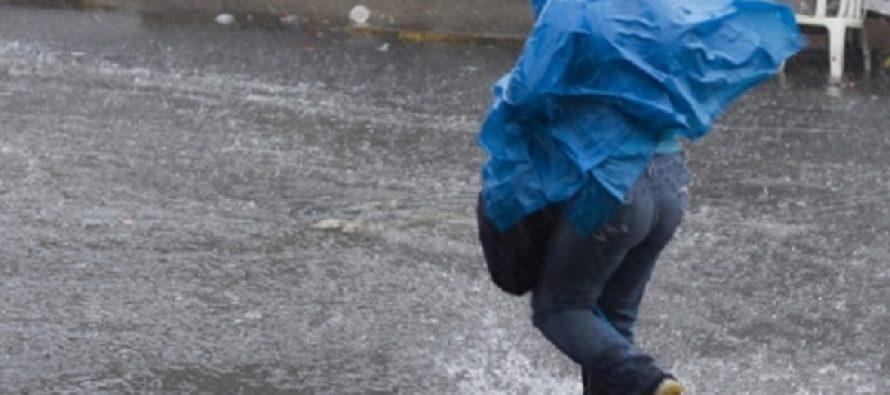 Llueve en cuatro delegaciones capitalinas