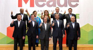 Suma Meade a Osorio Chong y Beltrones, a su campaña