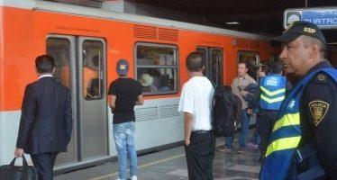 Metro da mantenimiento a estación Villa de Cortés de Línea 2