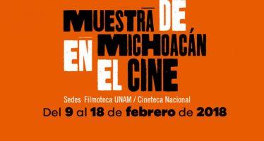 Muesta de Michoacán en el Cine, en la Cineteca Nacional