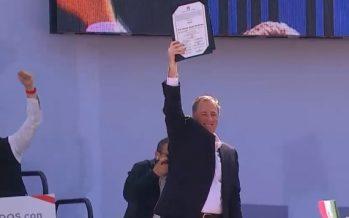 PRI elige a José Antonio Meade como su candidato a la Presidencia