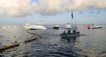 Autoridad ambiental desmantela campamento ilegal de pescadores