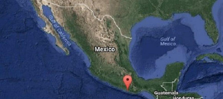 El sismo, de magnitud 7.2; el epicentro: Pinotepa Nacional