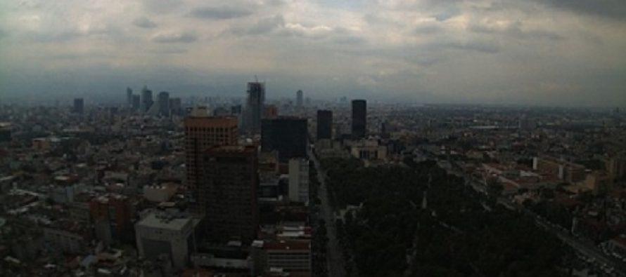 Zona noreste del valle de México, con mala calidad de aire