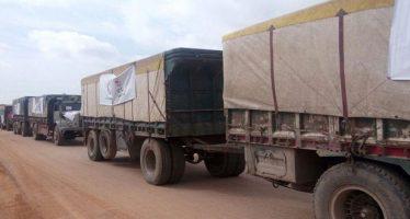 Gobierno sirio envía ayuda humanitaria a la población de Afrín