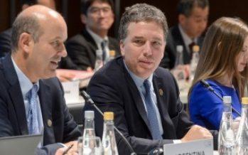 Comienza cumbre de ministros de Finanzas del G20 en Argentina