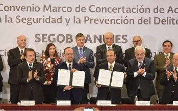Firman SEGOB y ANUIES convenio de prevención del delito