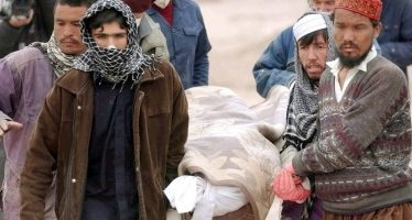 Deja bombardeo contra escuela 17 niños muertos en Siria