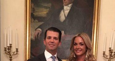 Pide divorcio esposa de Donald Trump Jr.