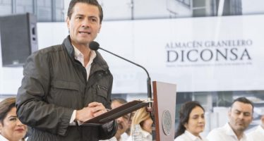 Gobierno federal respetará proceso electoral: Peña Nieto