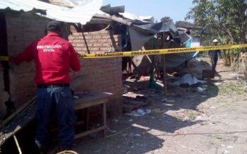 Explosión de material pirotécnico deja un muerto en Chilapa