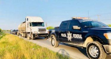 Detenido conductor con 32 mil litros de hidrocarburo en Nuevo León