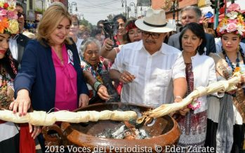Inicia la fiesta de la Flor más Bella del Ejido 2018 en Xochimilco